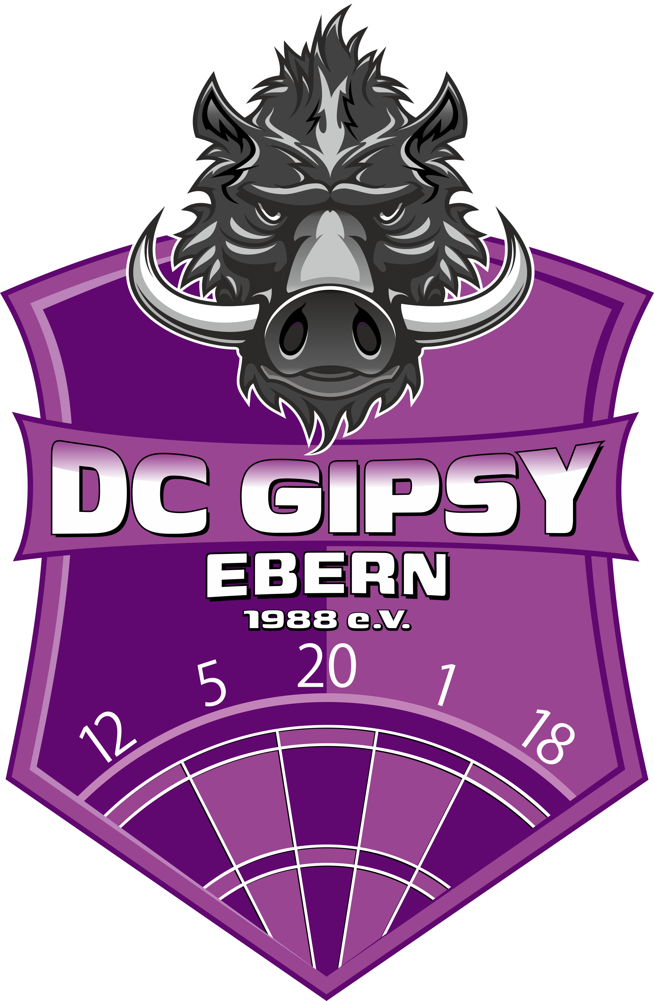 DC Gipsy Ebern Dart Logo