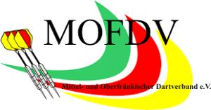 MOFDV Mittel- und Oberfränkischer Dartverband e.V. Logo